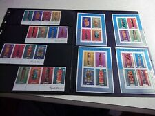 NIUE Cook Islands Stamps 1980 SETS - ARTS FESTIVAL, Queen Mother, CHRISTMAS