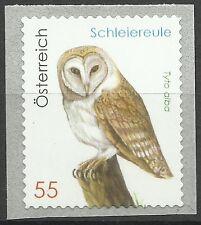 Autriche Austria Oiseaux Hiboux Chouettes Owls Birds Eulen Vogel ** 2008 Adhesif