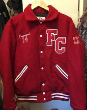 Vintage FC FRANKFORD  CHARGERS SAN DIEGO CHARGER Game Sportswear Coat Jacket.