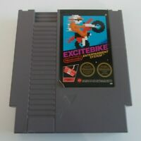 EXCITEBIKE  NINTENDO NES VIDEO GAME CARTRIDGE ( TESTED AND WORKING ) PAL A