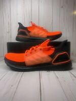 Adidas UltraBOOST 19 Solar Red Black Mens Size 8 Running Sneakers G27131 New