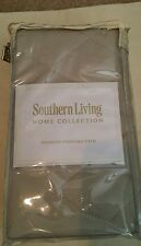 Beautiful. .Southern Living Diamond standard pillow sham.silvery gray 2 avail