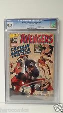 CGC 9.8 AVENGERS #4 1ST. Silver Age CAPTAIN AMERICA Wizard ACE edition FREE SHIP