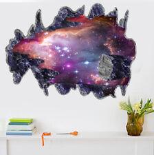 Weltall Planeten 3D Optik Wandtattoo Aufkleber Sticker Wandaufkleber +++5003