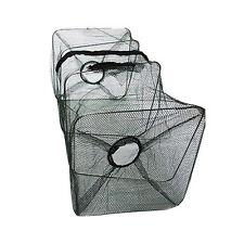 Foldable Fishing Bait Trap Nets Cast Cage Shrimp crawdad Minnow Durable Basket