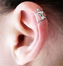 Person Climber Ear Cuff Earring Silver Alloy Ear Clip Hugger New