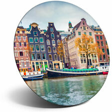 Awesome Fridge Magnet - Amsterdam Netherlands Houses Cool Gift #3036