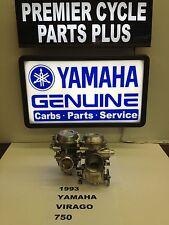 1993 YAMAHA VIRAGO XV 750 SET OF MIKUNI CARBS CARBURETORS