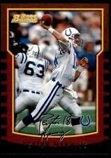 2000 Bowman Peyton Manning Indianapolis Colts #112