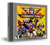 Freedom Force (Jewel Case) - PC - Video Game - VERY GOOD