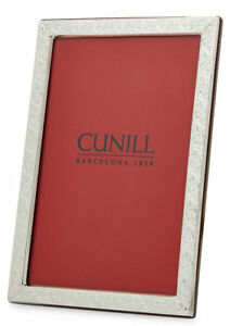 Cunill Sterling Silver Marseille 8X10 Picture Frame