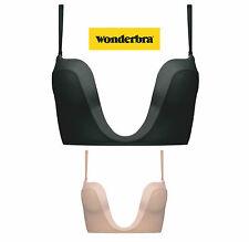 Wonderbra PERFECT PLUNGE BH Schwarz, Skin A-C 70-85 für tiefe V-Auschnitte Top