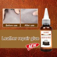 30ml Leather Restore Glue Adhesive Maximum Strength Repair Car Seat Sofa Coat