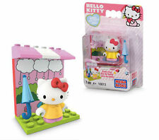 Hello Kitty Rainy Day Umbrella Outfit Minifigure Mega Bloks Block 7 pces 10813