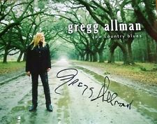 GREGG ALLMAN ~ AUTOGRAPH REPRINT 8 X 10 VERY NICE PHOTO! WONDERFUL! F4