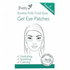 Pretty Treatments Soothe Puffy Tired Eyes GEL Eye Patches 4 Innovative Design