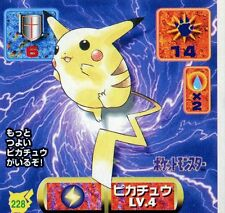 POKEMON STICKER Carte JAPANESE 50X50 1997 NORM@L N° 228 PIKACHU