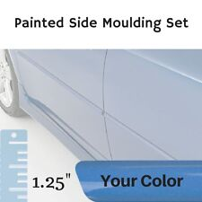 "Painted 1.25"" Body Side Moulding Set for Chevrolet Malibu Sedan (Factory Finish)"