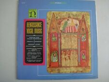 NONESUCH H-71097, RENAISSANCE VOCAL MUSIC, Recorded in West Germany, Stereo