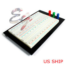 Solderless Breadboard Protoboard T/P Tie-point 1610 Hole PCB Prototype Board US