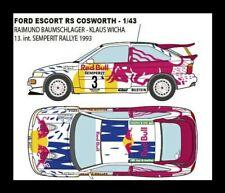 1/43 DECALS Ford ESCORT Rs Cosworth Raimund Baumschlager