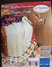Needlecraft Shop Afghan Collector's Series 12-Hour Time Savers Crochet Crayon