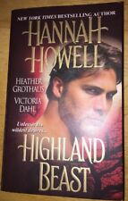 Highland Beast by Hannah Howell, Victoria Dahl and Heather Grothaus (2010, Pape…