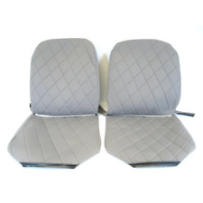 Citroen 2CV6 Charleston Cloth Seat Cover Set - 2 front & rear