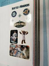 Seattle Mariners MLB Logos/Hernandez/Betancourt Stickers Sheet