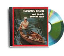 Activité de revente vintage cedar bande canadien canot ouvert plans dvd rom paquet
