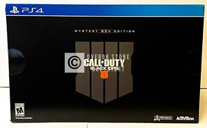 Call of Duty Black Ops 4 Mystery Box Edition - PS4 - Brand New | Factory Sealed
