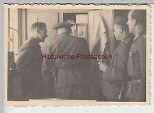 (F2400) Orig. Foto 2.WK, Soldaten-Ausbildung, Spind-Kontrolle, 1940er