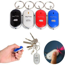 Whistle Sound Alarm Led Light Torch Anti-Lost Key Finder Locator Keychain Hot