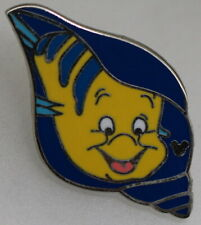 2009 Disney Hidden Mickey The Little Mermaid Flounder Pin