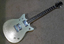 Synchromatic by Gretsch Silver Double Cutaway Sparkle Jet AC/DC Young G1922