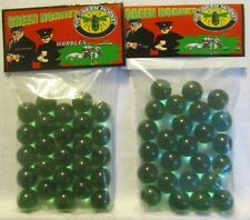 2 Bags Of Green Hornet Super Hero TV Show Promo Marbles