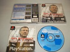 Sony Playstation 1 PS1 Console Game - Alex Fergusons Player Manager 2002