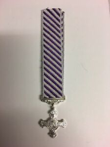"""distinguished flying cross Miniature GVI With 6"""" Ribbon"""