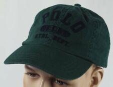 Polo Ralph Lauren Baseline 1993 Baseball Cap Hat Green Chino One Size