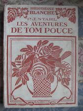 1924 Tom pouce Stahl illustré Bertall histoire d'une poupée et soldat de Plomb