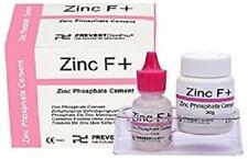Zinc Phosphate Permanent Dental Cement Tooth Filling Fixation Powder Liquid