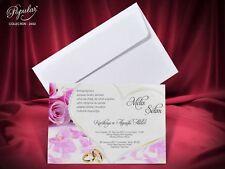 Faire Part mariage enveloppe inclus x 20 Pcs