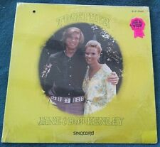 Jane & Bob Henley - Together LP in shrink private press xian NM