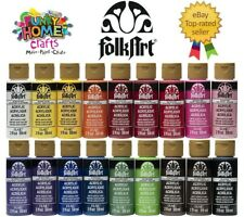 FolkArt MATTE acrylic paint 2oz 59ml bottles - Quality Acrylic Paint by PLAID
