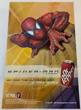 2002 Dr Pepper ad page ~ SPIDER-MAN