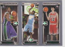2003-04 Topps Rookie Matrix T.J. Ford Carmelo Anthony Kirk Hinrich RC