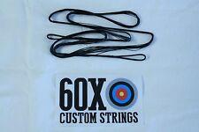 "60X Custom Strings 48"" 452x Black Oneida Tomcat Bowstrings Bow String"