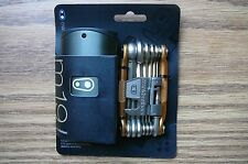 Crank Brothers M19 19-Tool Multi Tool Bicycle Gold with Case and Chain Tool NEW