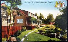 CANADA ~ 1900's Murray Bay ~ Ex. President Taft's Cottage ~