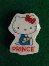 PRINCE - HELLO KITTY 2 gomma vintage 80s , eraser rubber gommina
